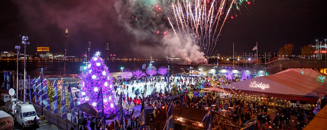 New Year's Eve Parties On Ice!