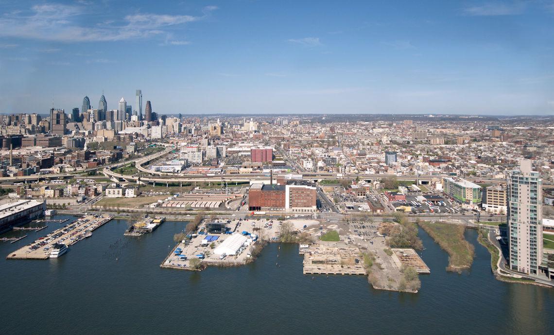 Aerial image of Spring Garden Site