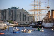 Paddle Penn's Landing Program at the Marina
