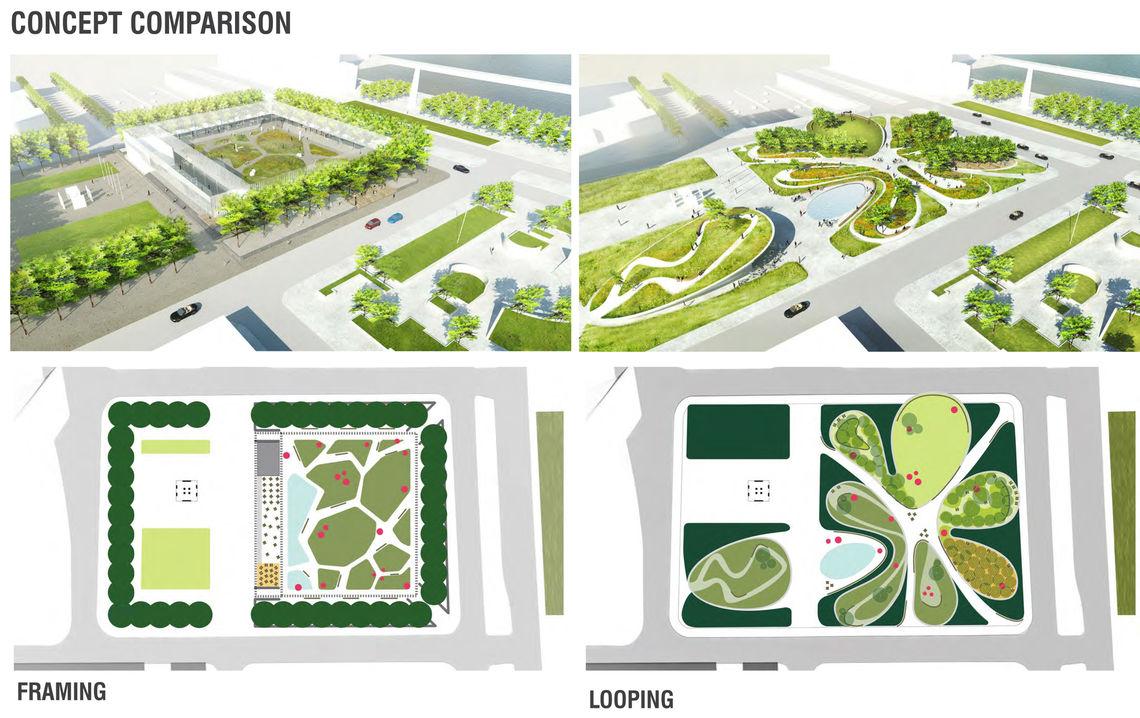 Foglietta Plaza concept comparison