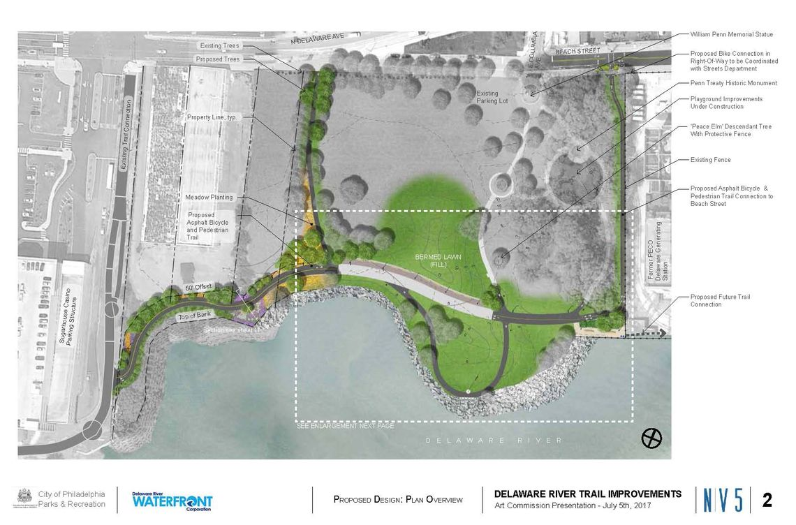 north trail illustrative plan