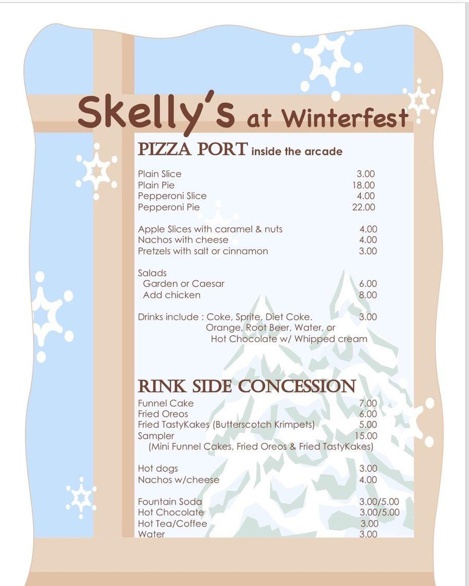 skellys menu