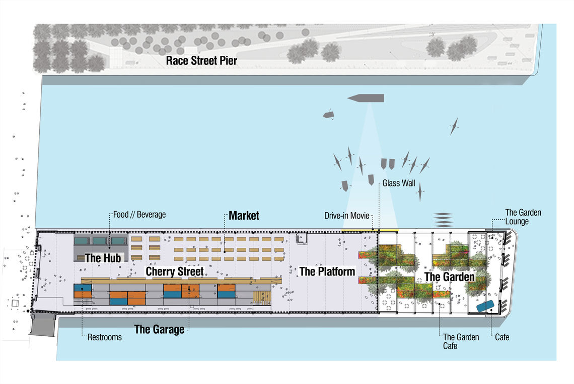 cherry street pier site plan