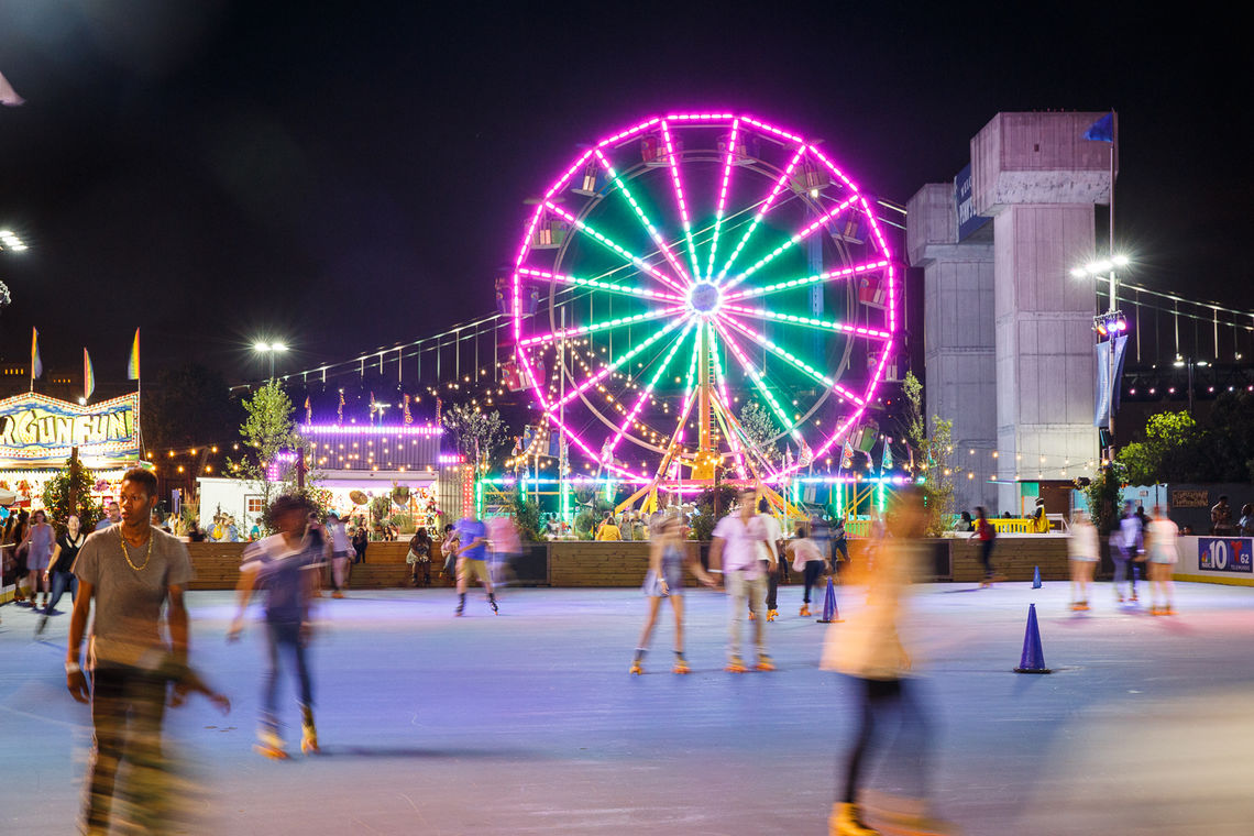 Blue Cross RiverRink Summerfest turns into Philly's urban beachfront