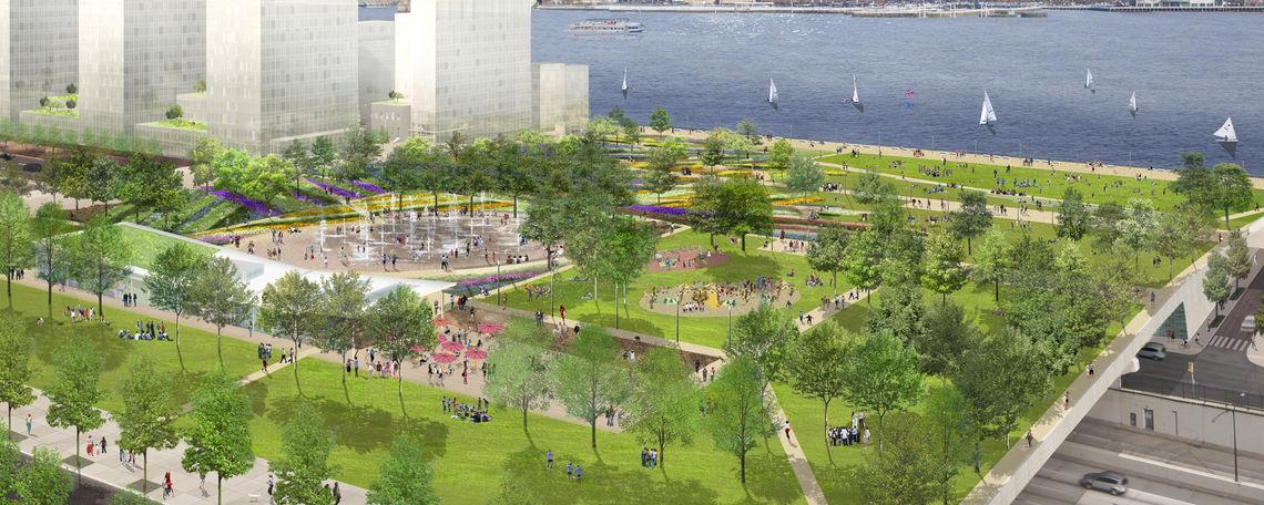 Park at Penn's Landing
