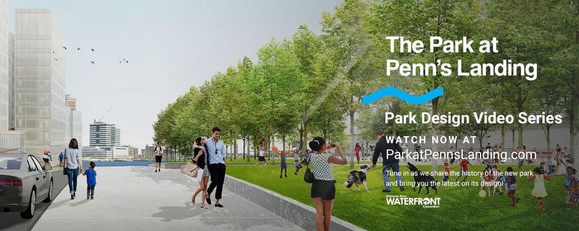 See New Renderings of the Park at Penn's Landing
