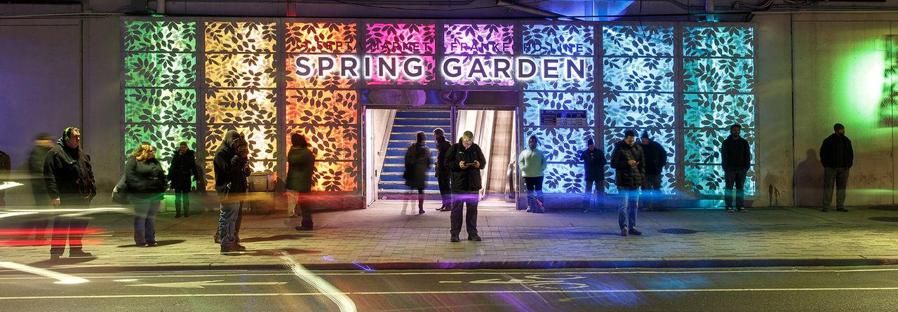 Spring Garden Connector  2198 Banner